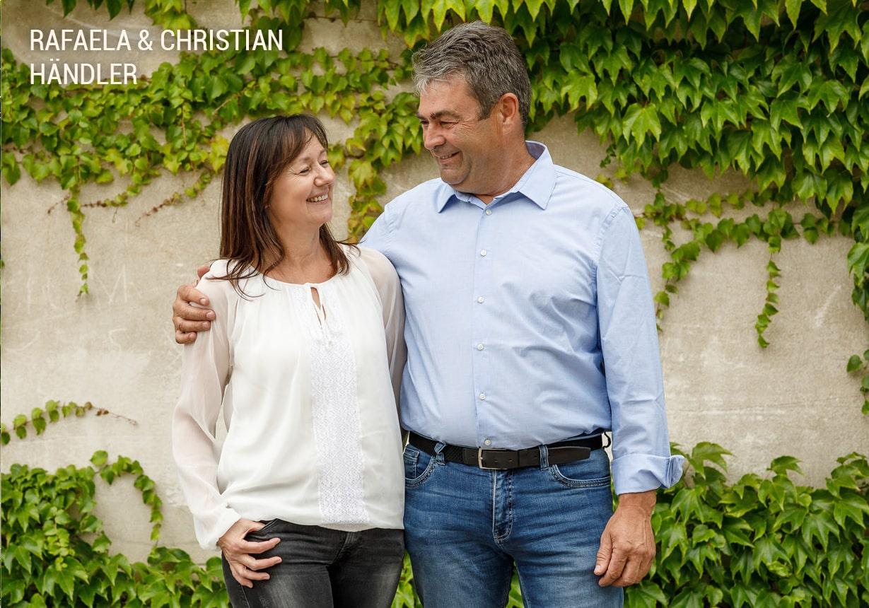 Rafaele und Christian Haendler