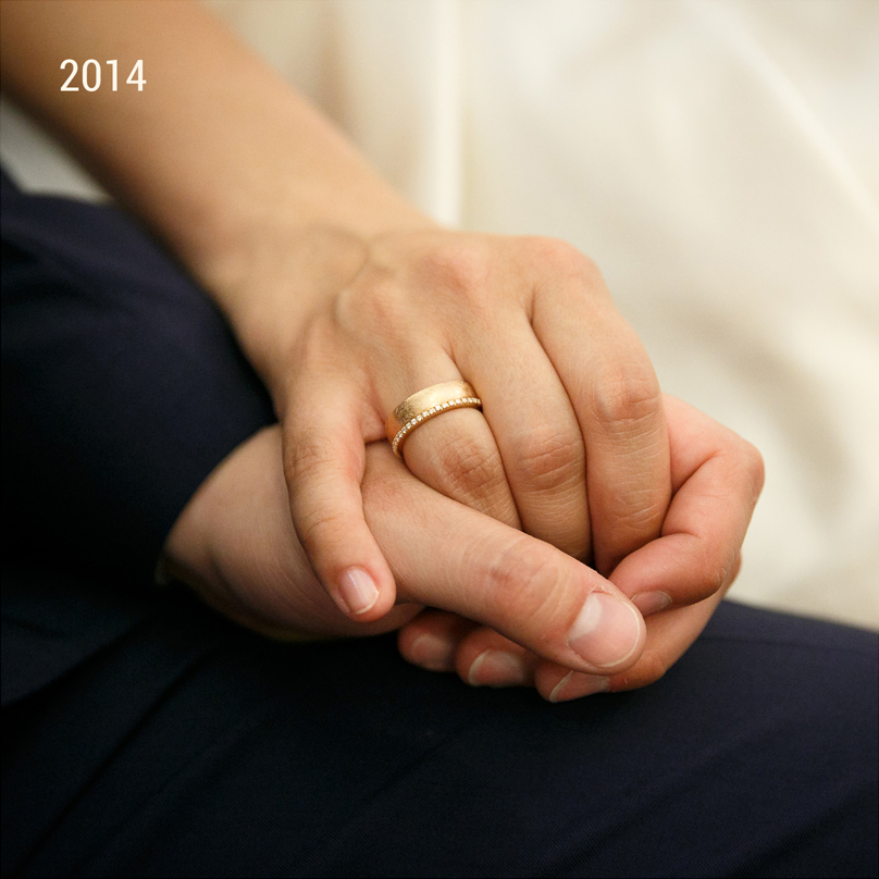 Jahrgang 2014 Hochzeit Trauung