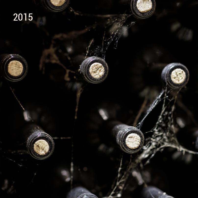 Jahrgang 2015 Lagerung Weinkeller